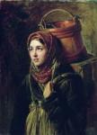 Живопись | Константин Маковский | Селедочница, 1867