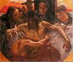 Живопись | Ловис Коринт | Снятие с креста, 1895