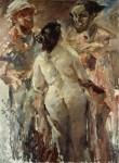Живопись | Ловис Коринт | Сусанна и старцы, 1923