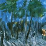 Живопись | Михаил Ларионов | Бульвар в Тирасполе, 1911