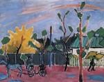 Живопись | Михаил Ларионов | Закат после дождя, 1908