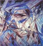 Живопись | Михаил Ларионов | Портрет дурака, 1912