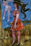 Живопись | Михаил Ларионов | Цирковая танцовщица, 1911