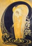 Живопись | Нина Волкова | Будда и небесный Ганг, 1997
