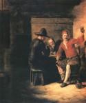 Живопись | Питер де Хох | Весёлые бражники, 1650
