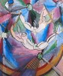 Живопись | Рауль Дюфи | Акробаты, 1922