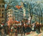 Живопись | Рауль Дюфи | Карнавал на Гранд бульваре, 1903