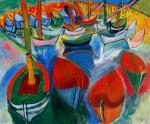 Живопись | Рауль Дюфи | Лодки, 1908