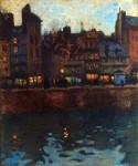 Живопись | Рауль Дюфи | Пьер ле Гавр вечером, 1901