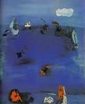 Живопись | Рауль Дюфи | Средиземное море, 1923