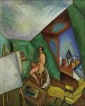 Живопись | Рауль Дюфи | Студия на улице Сегье, 1909
