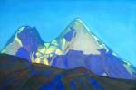 Живопись | Святослав Рерих | Две вершины. Гепанг, 1934