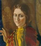 Живопись | Святослав Рерих | Портрет Ираиды Богдановой, 1937