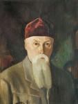 Живопись | Святослав Рерих | Портрет Н.К. Рериха, 1940-е