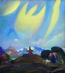 Живопись | Святослав Рерих | Сага о Гессар-Хане, 1937