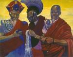 Живопись | Святослав Рерих | Тибетские ламы