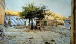 Живопись | Телемако Синьорини | Холмы осрова Эльба, 1888