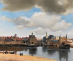 Живопись | Ян Вермеер | Вид Дельфта, 1661