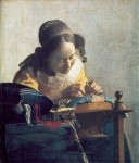 Живопись | Ян Вермеер | Кружевница, 1664