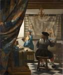 Живопись | Ян Вермеер | Мастерская художника, 1666-67
