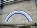 Стрит-арт | Работа Escif и обозначение улицы 6-го Подвига Геракла