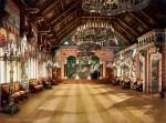 Архитектура | Лебединый замок | Зал певцов (почтовая открытка, конец XIX века)