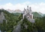 Архитектура | Лебединый замок | Открытка 1890 года