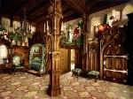 Архитектура | Лебединый замок | Спальня (почтовая открытка, конец XIX века)