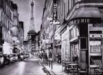 Графика | Андрей Полетаев | Вечер в Париже
