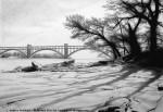 Графика | Андрей Полетаев | Зимний Пейзаж