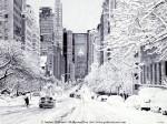 Графика | Андрей Полетаев | Снежный Нью-Йорк