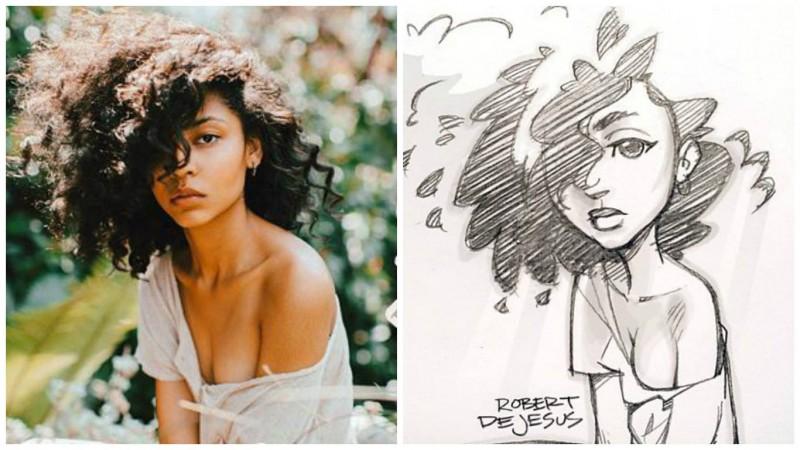 Banzchan: портреты в стиле аниме
