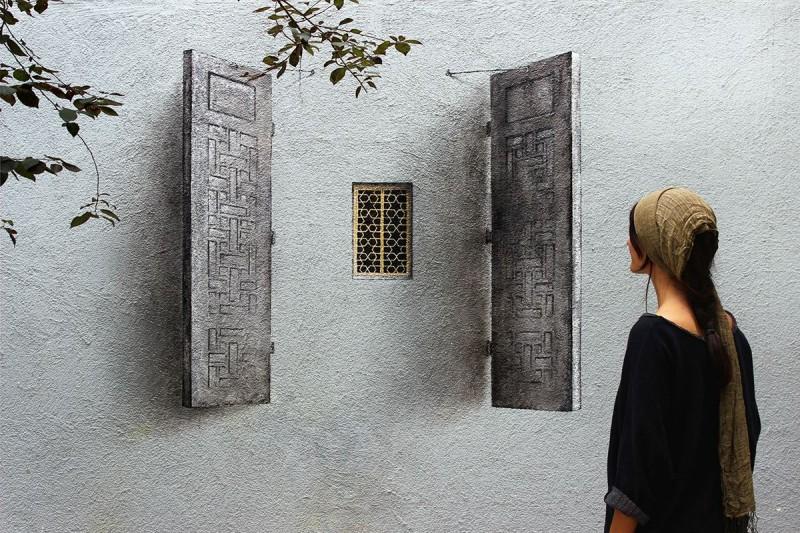Pejac: за гранью уличной живописи