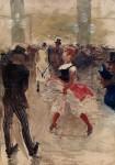 Живопись_Анри де Тулуз-Лотрек_В Л'Элизе-Монмартр, 1888