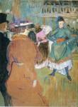 Живопись | Анри де Тулуз-Лотрек | Начало кадрили в Мулен Руж, 1892