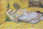 Живопись | Анри де Тулуз-Лотрек | Отказ (Пара), 1895