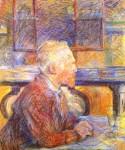 Живопись | Анри де Тулуз-Лотрек | Портрет Винсента ван Гога, 1887