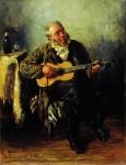 Живопись | Владимир Маковский | Гитарист, 1879