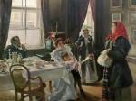 Живопись | Владимир Маковский | Две матери. Мать приемная и родная, 1905-06