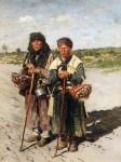 Живопись | Владимир Маковский | Две странницы, 1885