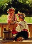 Живопись | Владимир Маковский | Девушки, освещенные солнцем, 1901