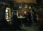 Живопись | Владимир Маковский | Любители соловьев, 1872-73