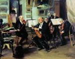 Живопись | Владимир Маковский | Музыкальный вечер, 1906
