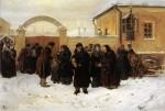 Живопись | Владимир Маковский | Ожидание, 1875