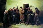 Живопись | Владимир Маковский | Осужденный, 1879