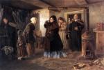 Живопись | Владимир Маковский | Посещение бедных, 1874