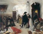 Живопись | Готхард Кюль | В ломбарде, 1873