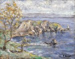 Живопись | Готхард Кюль | Побережье Балтийского моря, 1914