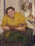 Живопись | Готхард Кюль | Посудомойка, 1903