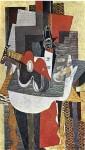 Живопись   Жорж Брак   Бутылка с соком, 1930
